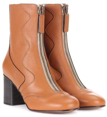 Chloé Exclusive to mytheresa.com – leather ankle boots