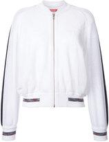 Coohem emboss eyelet tiger jacket - women - Linen/Flax/Acrylic/Nylon/Polyester - 36