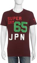 Superdry 65 JPN Jersey Tee, Port