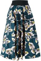 Marni 'Amlapura' print pleated skirt