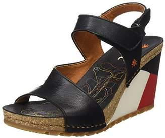 Art 1330 Memphis Güell, Women's Heels Sandals, Black, (41 EU)