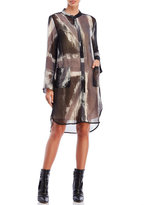 Religion Lucid Printed Shirtdress