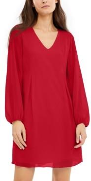 INC International Concepts Inc V-Neck Shift Dress, Created for Macy's