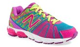 New Balance Girl's '890 - Circus Tribe' Athletic Shoe