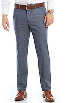 Murano San Francisco Collection Alex Modern Slim Fit Flat-Front Dobby Pants