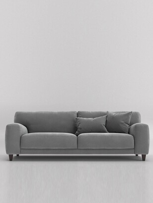 Swoon Edes Fabric 3Seater Sofa