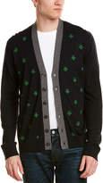 Gucci Bees & Stars Wool Cardigan