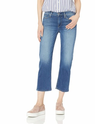Hudson Women's Stella MID Rise Crop Straight Leg 5 Pocket Jean