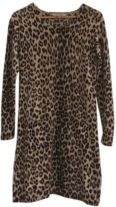 Gerard Darel Camel Wool Dress for Women