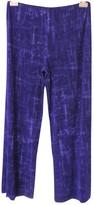 Jean Paul Gaultier Purple Trousers for Women Vintage