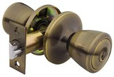 Yale Security Barricade Tulip Entry Knob, Antique RT-C5-4