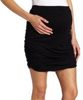 Ripe Maternity Women's Maternity Delta Ruched Skirt