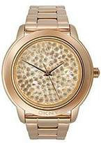 DKNY Rose-Gold Pave Crystal Women's watch #NY8475