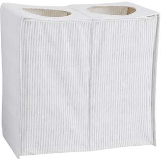 Pottery Barn Teen Collapse And Carry Hamper, Mini Stripe