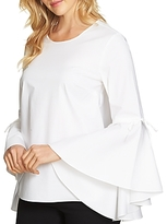 1 STATE 1.state Bell Sleeve Poplin Top