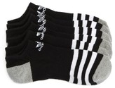adidas Boy's 3-Pack Original Cushioned No-Show Socks