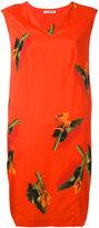 Cacharel leaf print dress