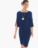 Chico's Split-Sleeve Dress