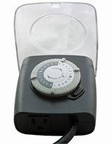 GE Outdoor Extreme Weather Programmable 24 Hour Electrical Cold Timer