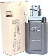 Cartier SANTOS DE by Eau De Toilette Spray (Tester) 3.3 oz Men