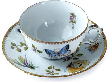 Anna Weatherley Spring in Budapest Teacup and Saucer