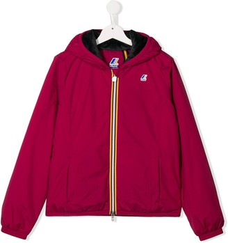K Way Kids TEEN hooded jacket