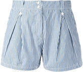 MAISON KITSUNÉ short tailored shorts - women - Cotton - 38