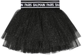 Balmain Kids Tulle skirt