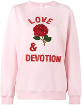 Ashish Love & Devotion sweatshirt - women - Cotton/Polyester - S