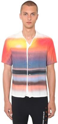 Ambush Hawaiian Printed Rayon Shirt