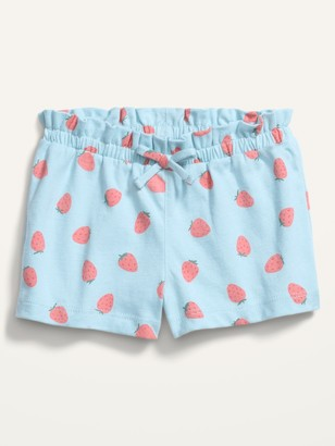 Old Navy Printed Pull-On Jersey-Knit Shorts for Baby