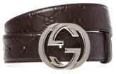 Signature Leather Belt