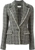 Etoile Isabel Marant 'Lacy' bouclé blazer - women - Cotton/Linen/Flax/Polyamide/other fibers - 40