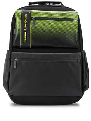 Diesel Neon-Effect Structured Backpack