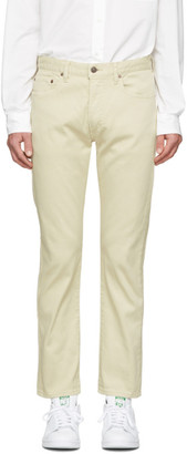 Beams Beige Corduroy Trousers