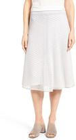Nic+Zoe Chevron Stripe Knit Skirt