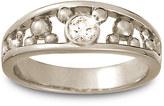 Disney Diamond Mickey Mouse Ring for Men - 18K White Gold