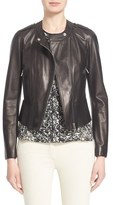 Belstaff Women's 'Whyte' Nappa Leather Moto Jacket