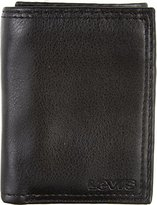 Levi's Men's Leather Trifold Wallet