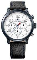 Tommy Hilfiger Men's 1791235 Jake Analog Display Japanese Quartz Black Watch