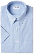 Pierre Cardin Blue Check Short Sleeve Dress Shirt