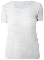 Armani Collezioni Textured Top