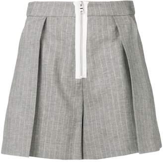 Pinko pleated short shorts