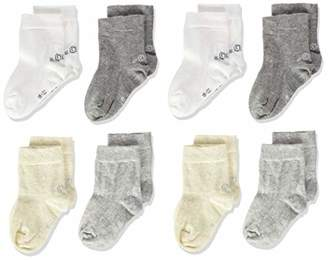 S'Oliver Socks Baby S20424000 Socks, (grey 0010), 6/8.5 (pack of 8)