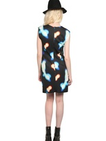 Mini Market Backlit Printed Neoprene Dress