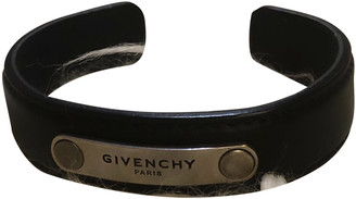 Givenchy Black Leather Jewellery