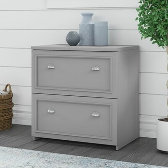 Three Posts Niles 2-Drawer Lateral Filing Cabinet Color: Cape Cod Gray