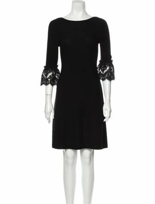 Oscar de la Renta 2017 Mini Dress w/ Tags Wool