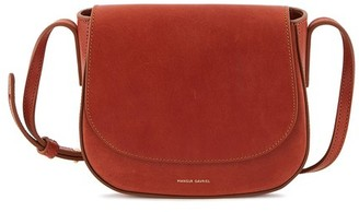 Mansur Gavriel Vegetable-tanned leather mini crossbody bag