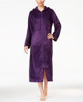 Charter Club Super Soft Hooded Zip-Front Robe, Only at Macy's